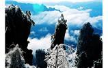 天子(zi)山(shan)雪景