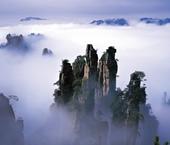 張家界旅(lv)游天(tian)子山風景